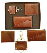 Premium 3 in 1 Leather Gift Set