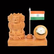 1366450226_Wooden_Ashoka_with_Clock_&_Flag.jpg