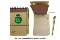 ECO FRIENDLY PAD WITH PEN-