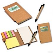 ECO FRIENDLY MEMO PAD WITH PEN