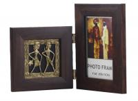 Dokhra Painting with Photo Frame